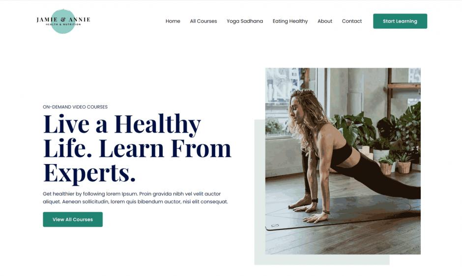 Astra 3.0 Layout Online Health Coach