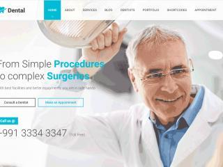 Dental Clinic ph Die besten WordPress Themes für Ärzte, Zahnärzte und Arztpraxen
