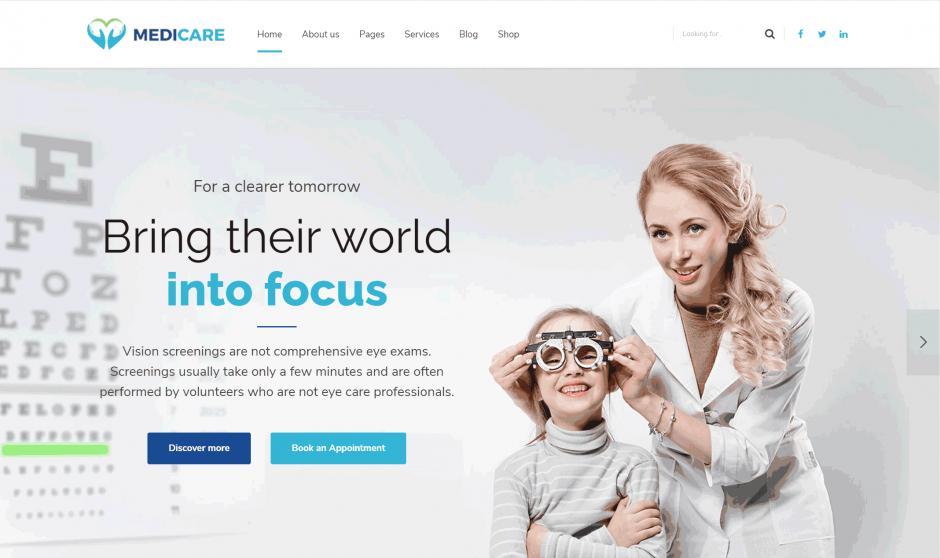 WordPress Theme Medicare