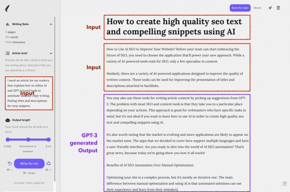 shortly Die besten GPT-3-Tools für automatisierte Text- und Snippet-Generierung mittels KI