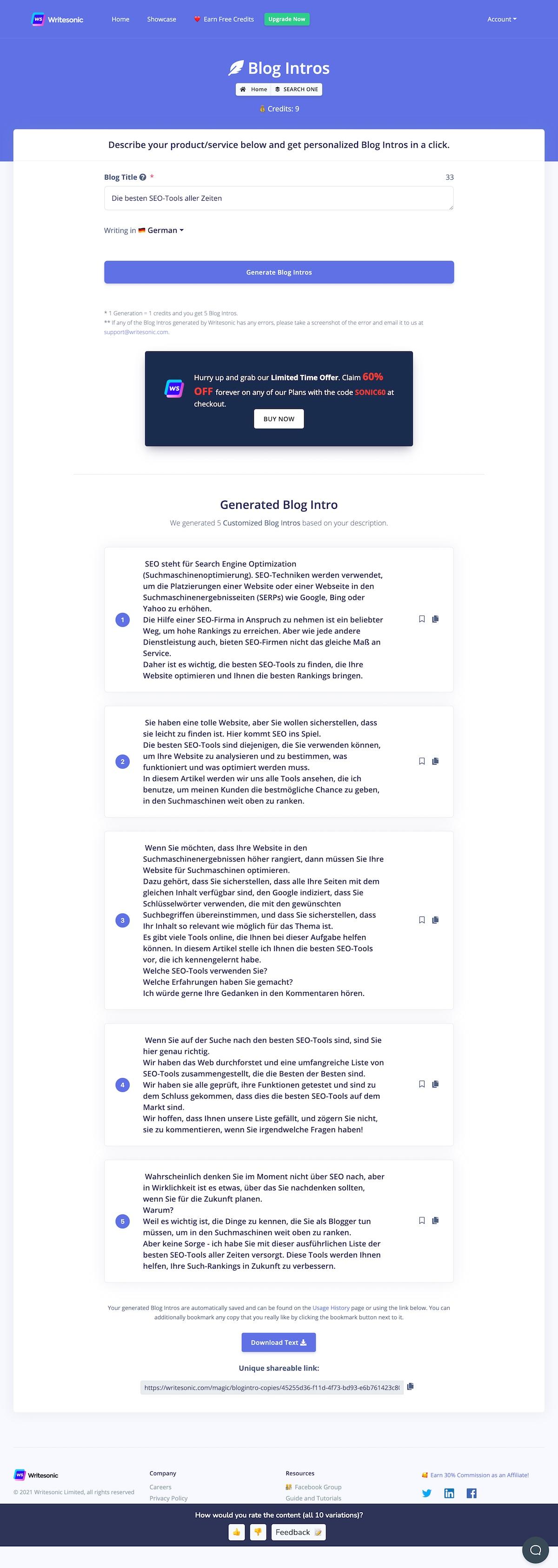 writesonic magic project Die besten GPT-3-Tools für automatisierte Text- und Snippet-Generierung mittels KI