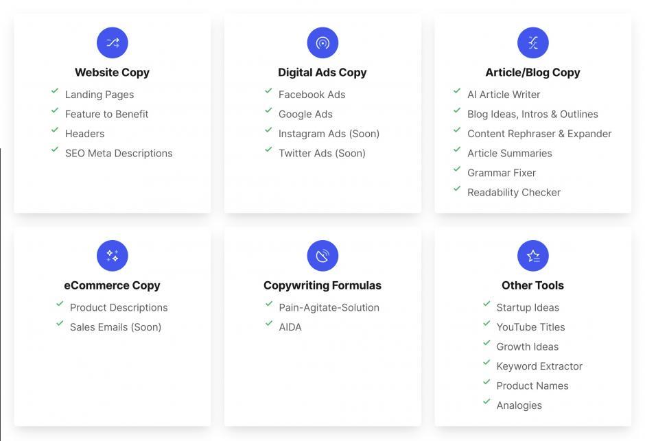 Verabschieden Sie sich von der Schreibblockade. Mit den KI-gesteuerten Schreibwerkzeugen von Writesonic können Sie in Sekundenschnelle leistungsstarke Anzeigen, Blogs, Landing Pages, Produktbeschreibungen, Ideen und vieles mehr erstellen.