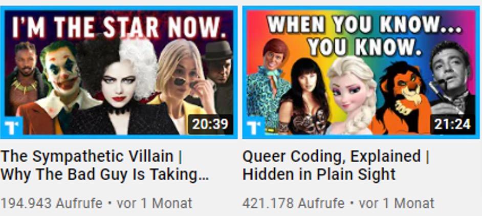 Gute YouTube Thumbnails