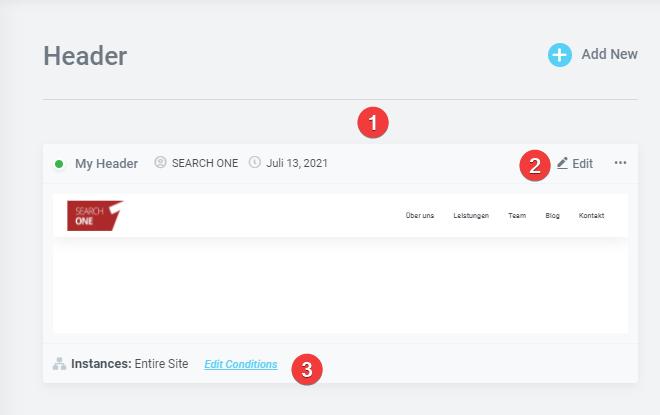elementor-theme-builder-header-anzeigen Elementor Pro Review