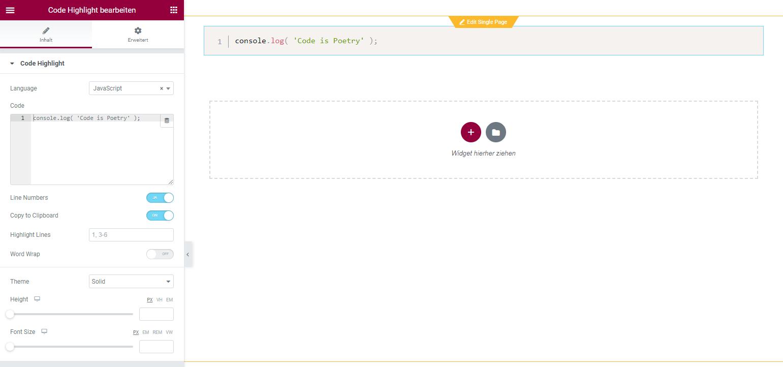 elementor-widget-code-highlight