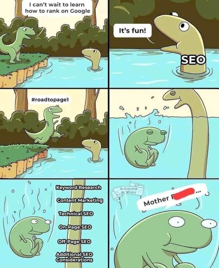 seo is not easy 1 Humor: Die besten Witze nur für SEOs