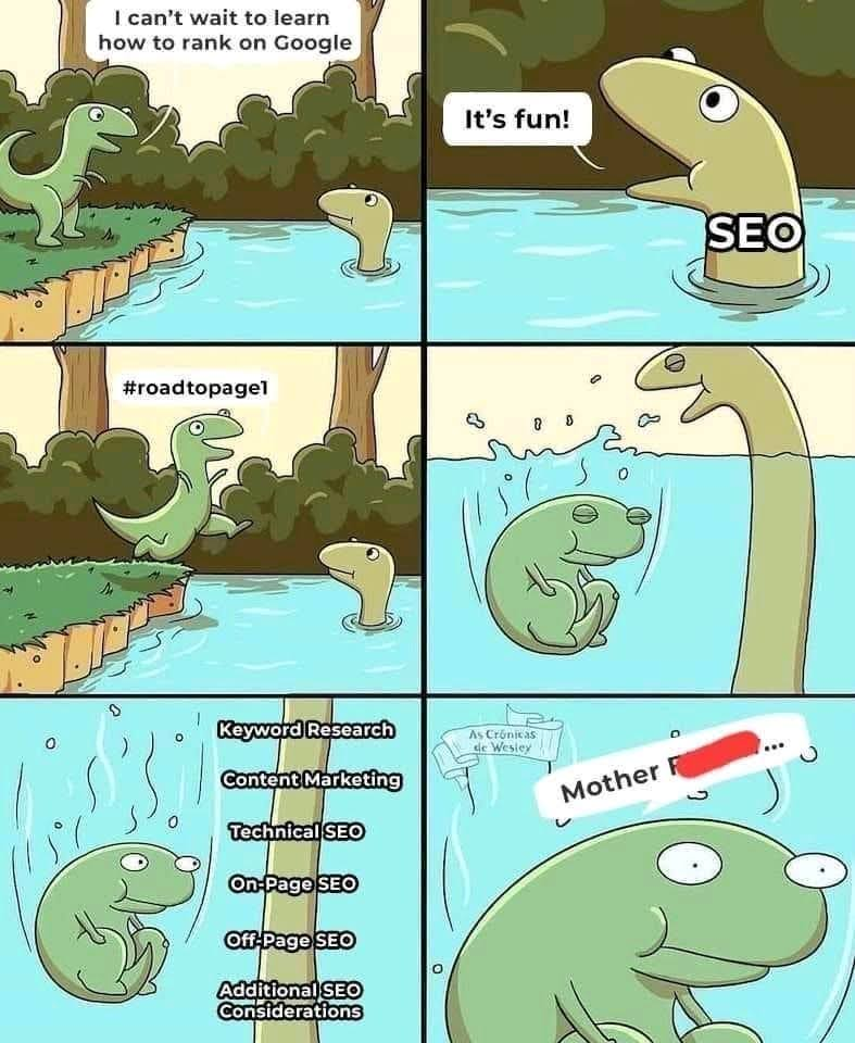SEO is not easy!