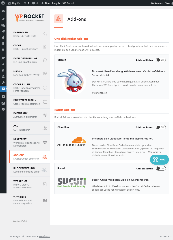 Content-Delivery-Network mit WP ROCKET Testbericht