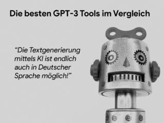 GPT3 textgenerierung deutsch robot g06445f848 1920 Die besten GPT-3-Tools für automatisierte Text- und Snippet-Generierung mittels KI