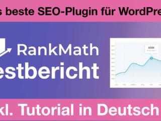 rankmath testbericht tutorial Rank Math Pro + Free Testbericht + Tutorial