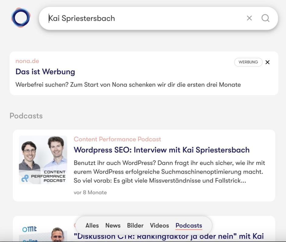 Podcast-Suche nach Kai Spriestersbach bei Nona