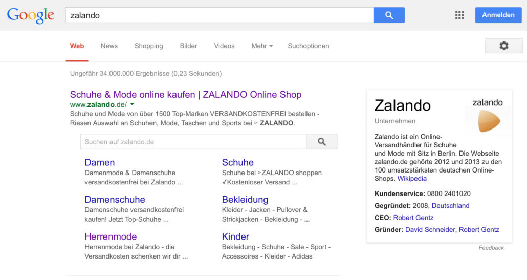 Brand Search Knowledge-Graph