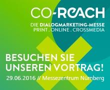 Vortrag auf der CO-REACH 2016
