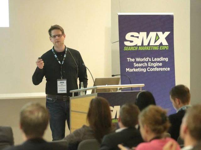 Kai Spriestersbach als Speaker auf der SMX München 2014