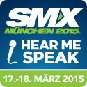 Hear me Speak at SMX München 2015
