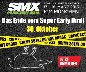 SMX München 2016 Rabattcode + Super Early Bird Preis